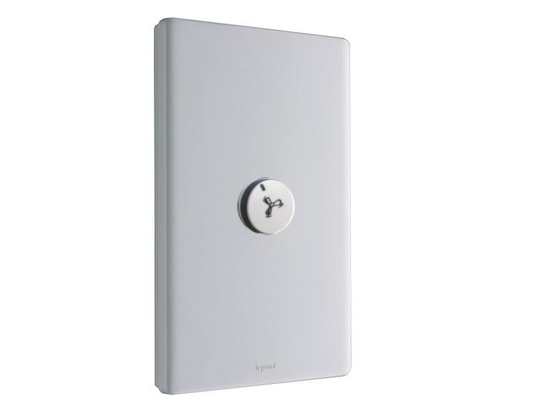 Legrand Excel Life 1 LEGED770/1 Switch Plus LEGEMRS fan controller
